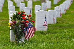 Arlington National Cemetery during Memorial Day - Washington DC United States by Orhan