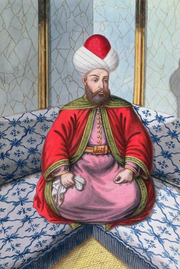 Orhan I, Ottoman Emperor, (1808)-Unknown-Giclee Print