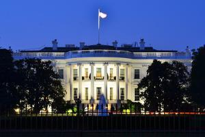 The White House at Night - Washington Dc, United States by Orhan
