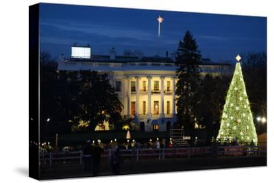 The White House in Christmas - Washington Dc, United States