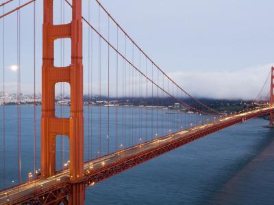 Golden Gate Bridge from Vista Poin