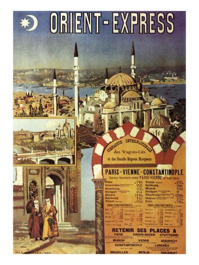 Orient-Express--Giclee Print