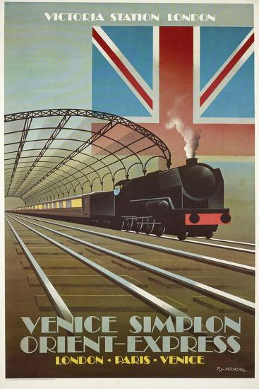 Orient Express-Vintage Apple Collection-Giclee Print