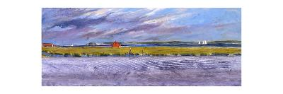 Orient Towards Shelter Island: a Sweeping Mid-Century View of the New York-New Jersey Coastline-Stanley Meltzoff-Giclee Print
