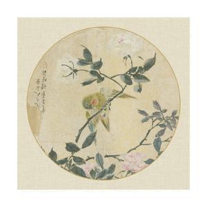 Oriental Bird Silk I