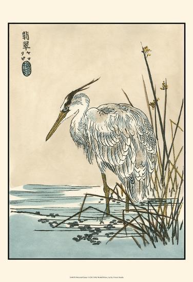 Oriental Crane I-Vision Studio-Art Print