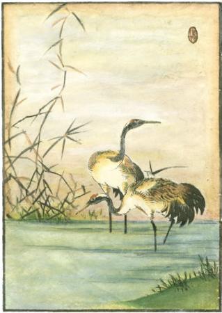 Oriental Cranes II