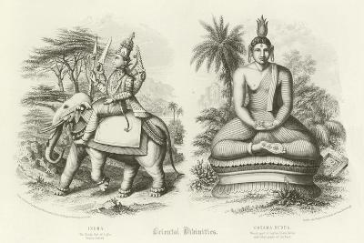 Oriental Divinities--Giclee Print