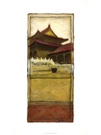 Oriental Panel I--Art Print