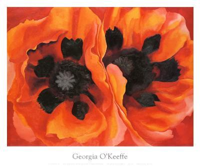 Oriental Poppies, 1928-Georgia O'Keeffe-Art Print