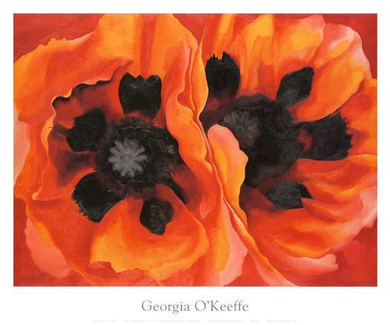 Oriental Poppies, 1928-Georgia O'Keeffe-Art Print