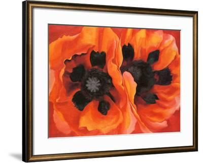 Oriental Poppies, 1928-Georgia O'Keeffe-Framed Art Print