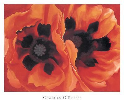 Oriental Poppies, 1928-Georgia O?keeffe-Art Print