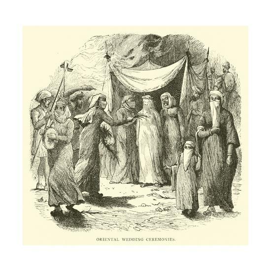 Oriental Wedding Ceremonies--Giclee Print