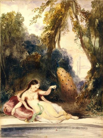 Oriental Woman-Louis Boulanger-Giclee Print