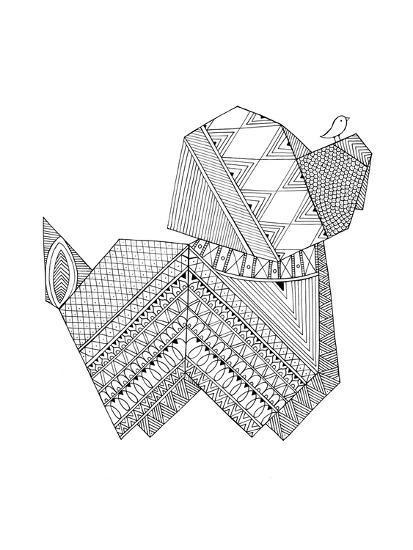 Origami 11-Neeti Goswami-Art Print