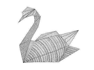 Origami 3-Neeti Goswami-Art Print
