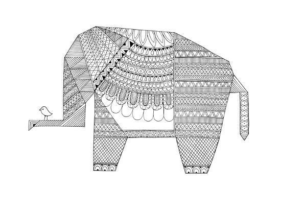 Origami 5-Neeti Goswami-Art Print