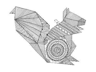 Origami 8-Neeti Goswami-Art Print