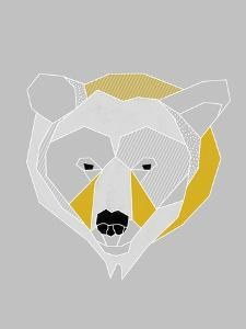 Origami Bear - Portrait