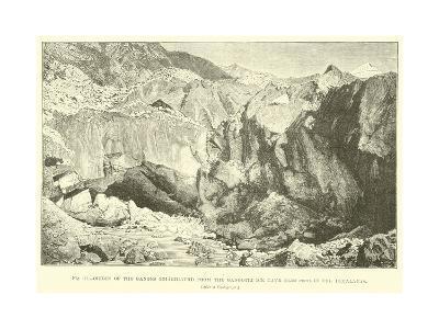 Origin of the Ganges--Giclee Print
