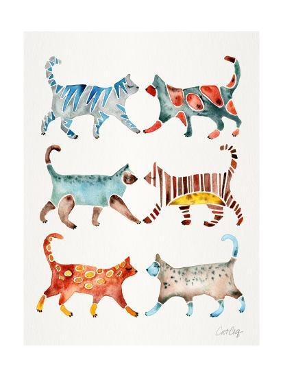 Original Cat Collection-Cat Coquillette-Giclee Print