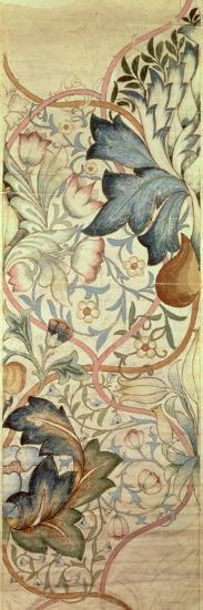 Original Design for the Artichoke Embroidery by Morris, C.1875-William Morris-Giclee Print