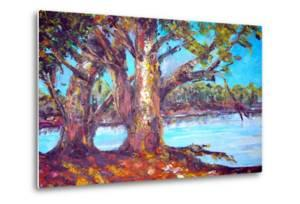 Original Oil Painting On Canvas For Giclee