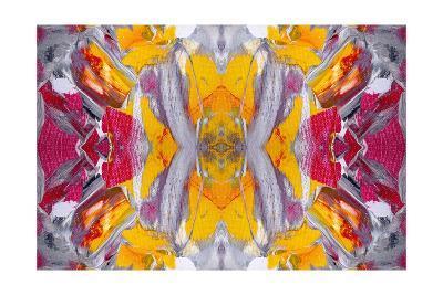 Original Oil Painting Rorschach Abstract--Art Print