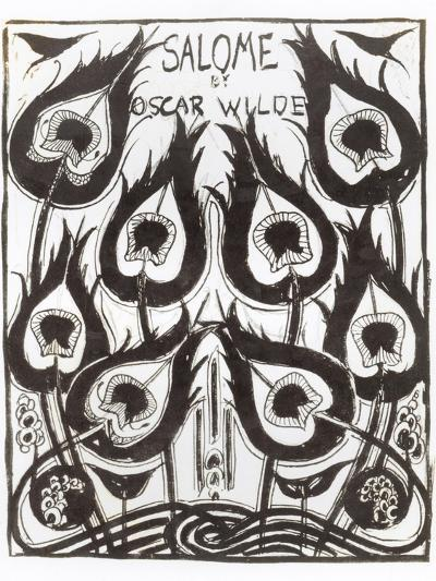 "Original Sketch for the Cover of ""Salome"" by Oscar Wilde circa 1894-Aubrey Beardsley-Giclee Print"