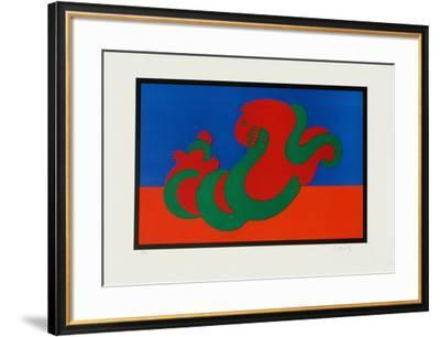 Origines - Catch-Victor Vasarely-Framed Limited Edition