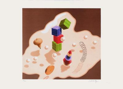 Origines - Jouets-Victor Vasarely-Limited Edition