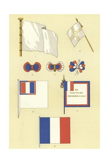 Origins of the French Tricolour--Giclee Print