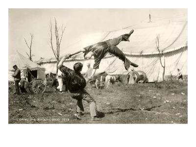 Oringtons, Circus Acrobats, 1915--Art Print
