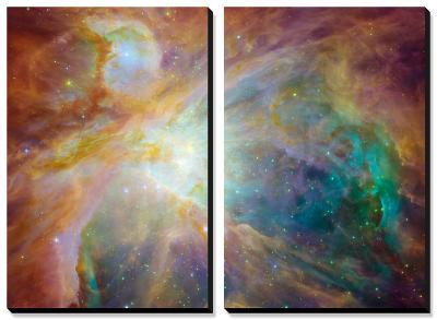 Orion Nebula--Canvas Art Set