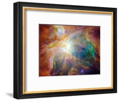 Orion Nebula-Stocktrek Images-Framed Photographic Print