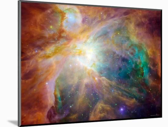 Orion Nebula-Stocktrek Images-Mounted Photographic Print