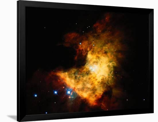 Orion Nebula-Terry Why-Framed Photographic Print