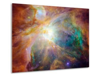 Orion Nebula-Stocktrek Images-Metal Print