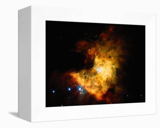 Orion Nebula-Terry Why-Framed Stretched Canvas Print
