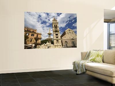 Orione Fountain, Clock Tower and Duomo-Richard Cummins-Wall Mural
