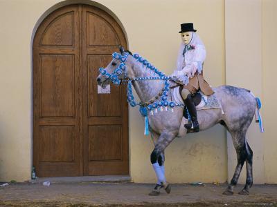 Oristano-La Santiglia Carnival, Sardinia, Italy, Europe-Bruno Morandi-Photographic Print