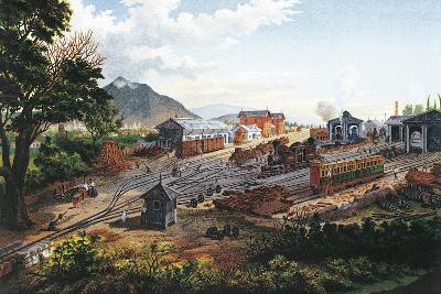 Orizaba Station, 1878, Mexico, 19th Century--Giclee Print