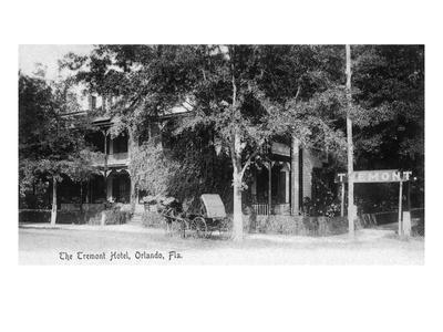 Orlando, Florida - Tremont Hotel Exterior View-Lantern Press-Art Print