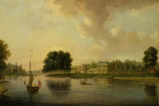 Orleans House, Twickenham-Joseph Nickolls-Giclee Print