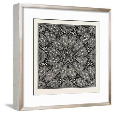 Ornament from the Title-Page of an Old Manuscript of the Koran--Framed Giclee Print