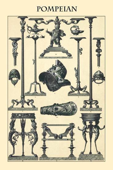 Ornament-Pompeian-Racinet-Art Print