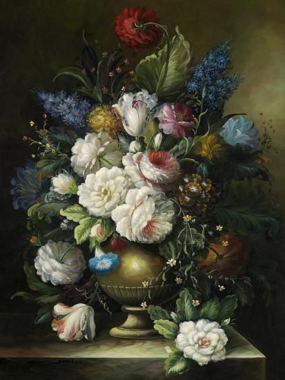 Ornamental Bouquet--Premium Giclee Print