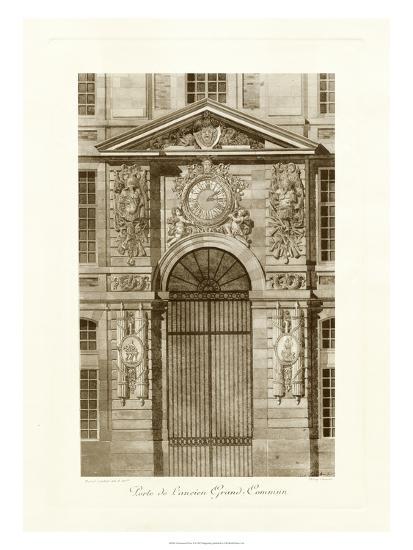 Ornamental Door II-Marcel Lambert-Art Print