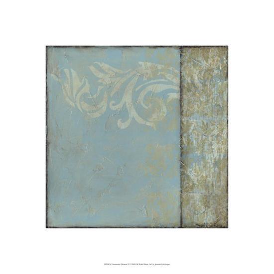 Ornamental Element II-Jennifer Goldberger-Limited Edition